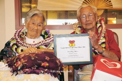 El matrimonio mas duradero de Hawaii